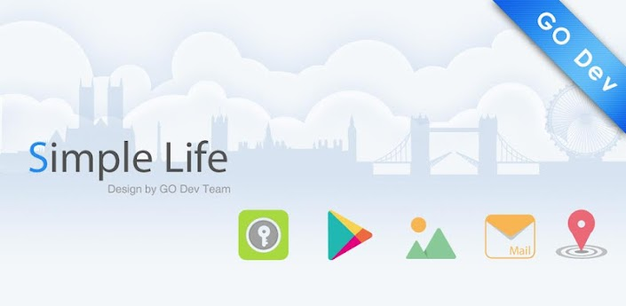 Simple Life GO Launcher Theme apk