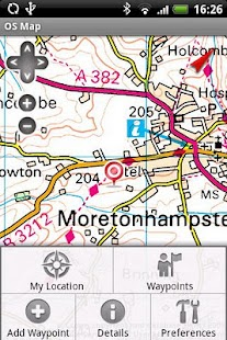 OS Map - screenshot thumbnail