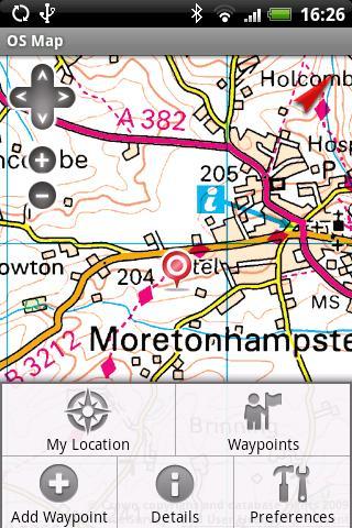 OS Map - screenshot