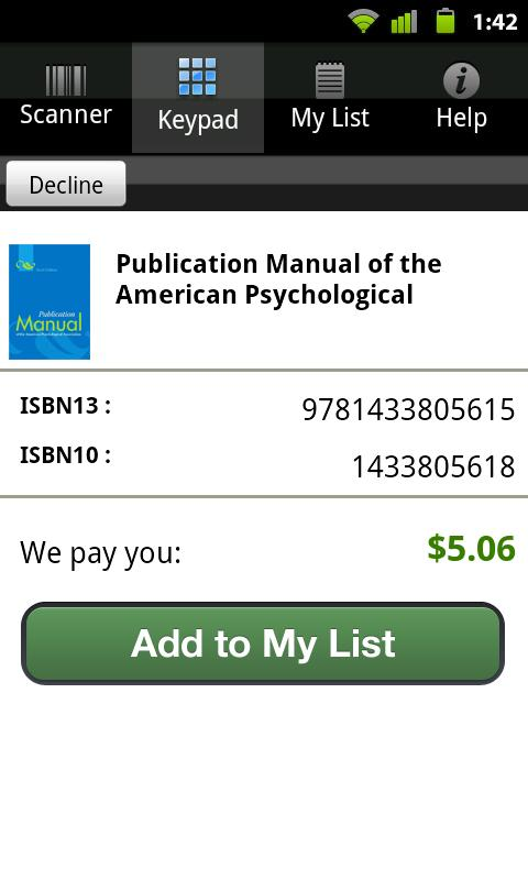 Cash4Books® Sell Textbooks - screenshot