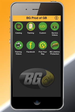 BG Products of GB