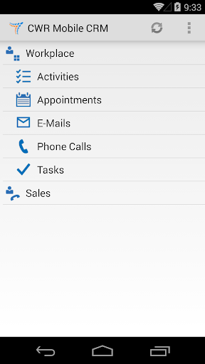CWR Mobile CRM 5.1