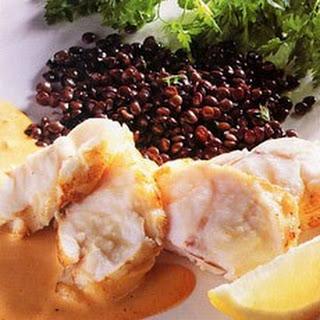 Roasted Monkfish with Romesco Sauce