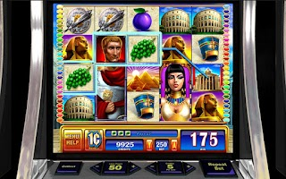 Screenshot of Rome and Egypt HD Slot Machine