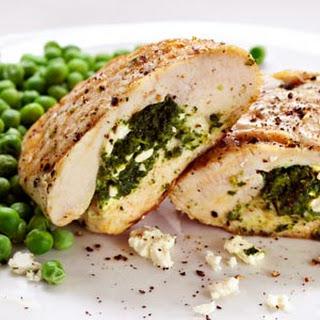 Two-Cheese Mediterranean Stuffed Chicken