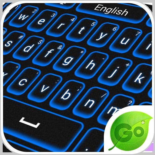 个人化のBlue Keyboard LOGO-記事Game