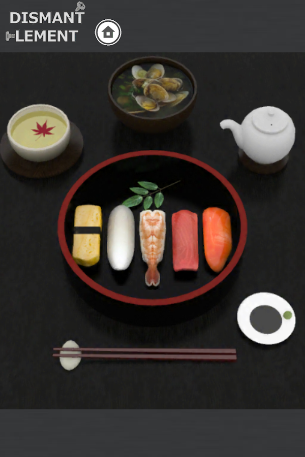 [Puzzle] Dismantlement SUSHI - screenshot