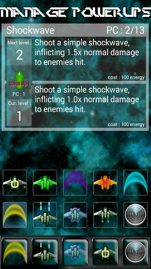 Neo Space Shooter- screenshot