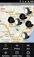 Screenshot of RC Track Finder