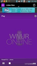 WMJR Gospel Jazz Radio screenshot thumbnail