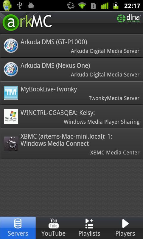 ArkMC LITE UPNP Media Center - screenshot