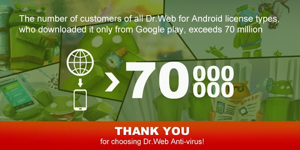 Dr.Web v.9 Anti-virus Life lic - screenshot thumbnail
