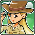 Adventure girl: Leila Boyd icon