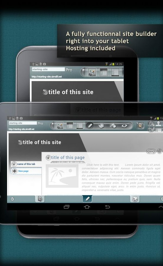 google android website website builder for android android apps on play 22683