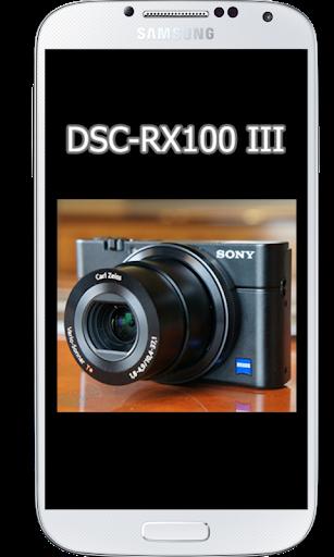 DSC-RX100 III Tutorial