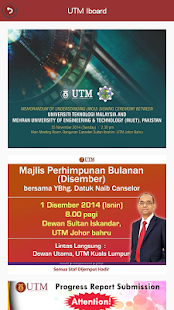 Universiti Teknologi Malaysia- screenshot thumbnail