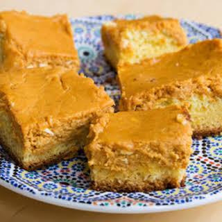 Paula Deen's Pumpkin Gooey Butter Cakes.