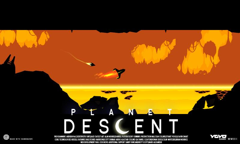 Planet Descent - screenshot