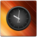 MIUI Dark Analog Clock Widget icon