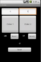Screenshot of Clicker