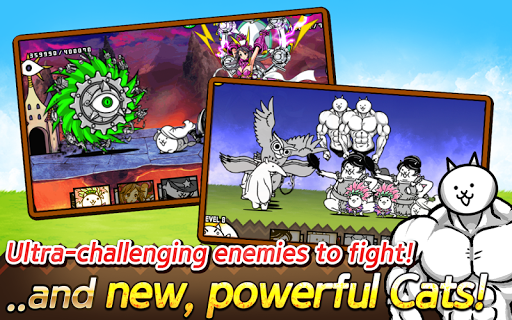 The Battle Cats 2 для планшетов на Android