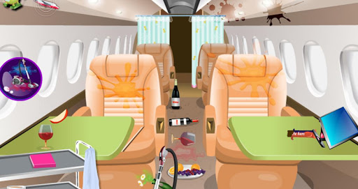 玩免費休閒APP|下載Free Airplane flight clean up app不用錢|硬是要APP