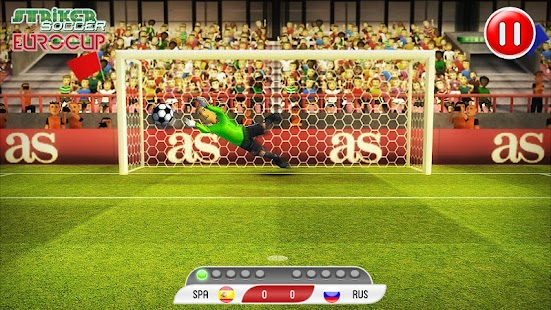 Striker Soccer Euro 2012 Pro- screenshot thumbnail