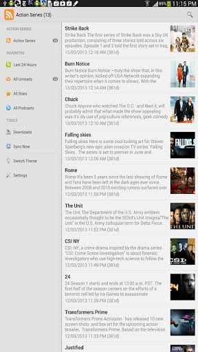 Action TV Shows