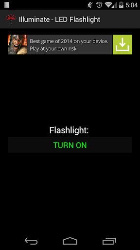 Illuminate - LED Flashlight