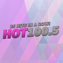 Hot 100.5 icon