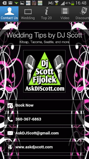 Wedding Tips by DJ Scott
