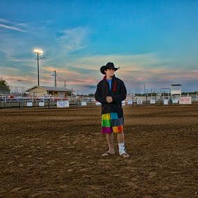 Bull Rider by Hans Watson - Sports & Fitness Rodeo/Bull Riding (  )