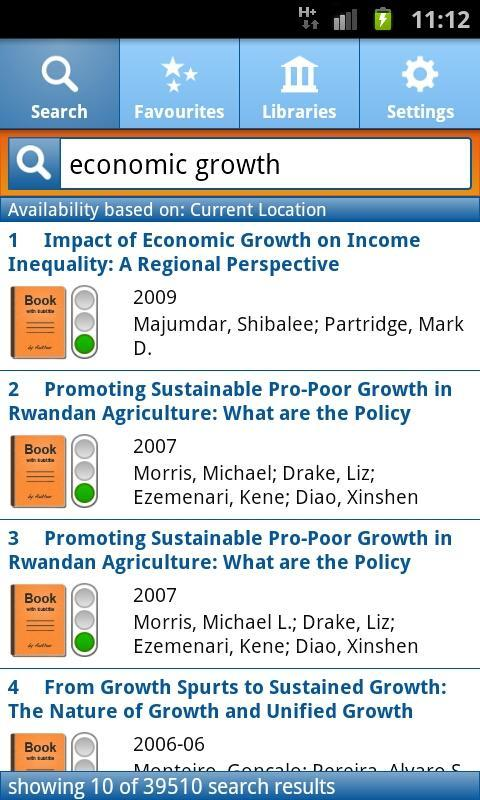 EconBiz- screenshot