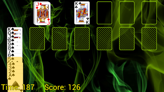 Spider Solitaire (Web rules)- screenshot thumbnail