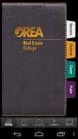 Screenshot of OREA Real Estate College