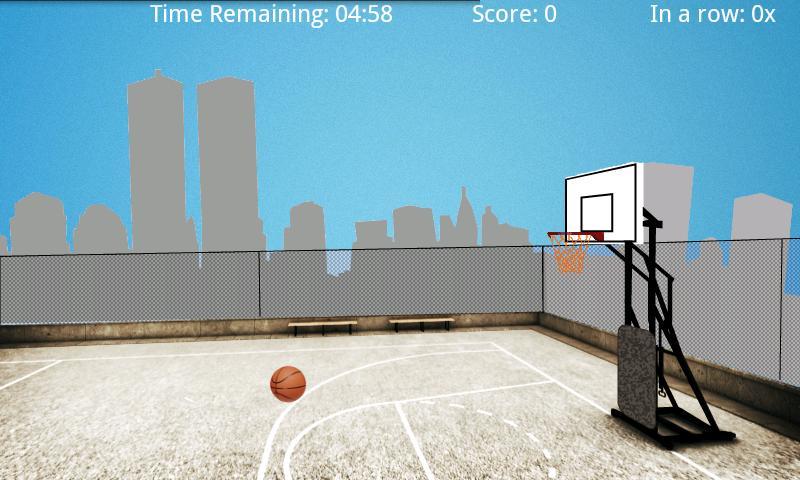 Flick Basketball Shot - screenshot