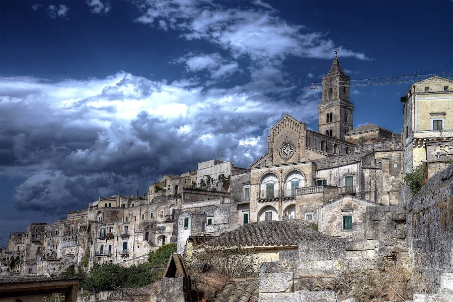 Matera by Lorenzo Di Candia - City,  Street & Park  Skylines ( lorenzo di candia, hdr, unesco, city of stones, matera, , Urban, City, Lifestyle )