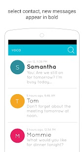Voca: Handsfree Text by Voice- screenshot thumbnail