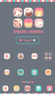 special animal friends 도돌런처 테마|玩個人化App免費|玩APPs