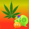 GO SMS PRO Theme Ganja Theme logo