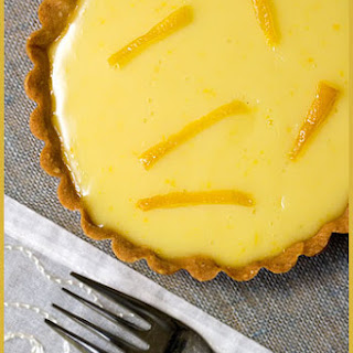 Meyer Lemon tarts.