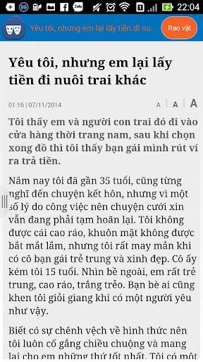 【免費新聞App】buon chan - chuyen kho noi-APP點子