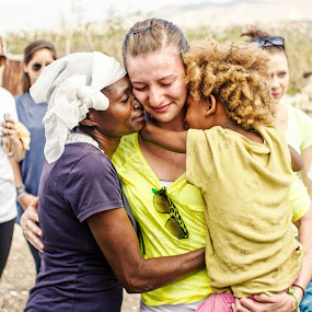 Leaving Haiti by Wes Beale - People Street & Candids ( love, haiti, people, missions work, portrait, emotion, human )