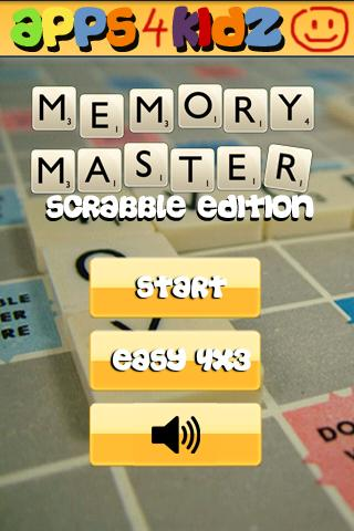 Memory Master Scrabble © - screenshot