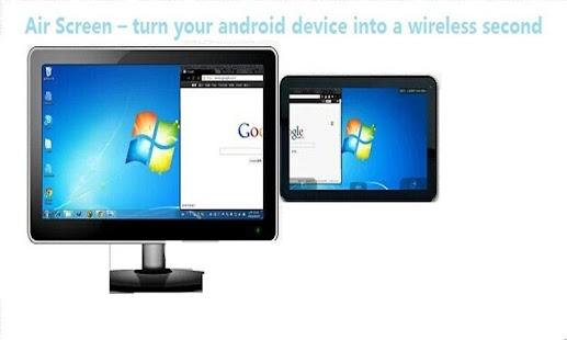 AirScreen 手机是电脑的无线扩展显示器