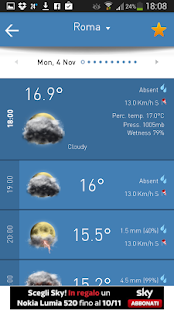 3B Meteo - Weather Forecasts - screenshot thumbnail