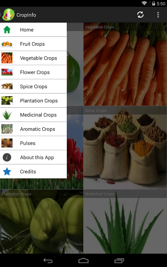 CropInfo- screenshot
