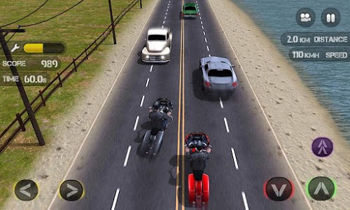 Race the Traffic Moto FULL v1.0.1