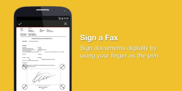 eFax - Mobile Phone Fax App