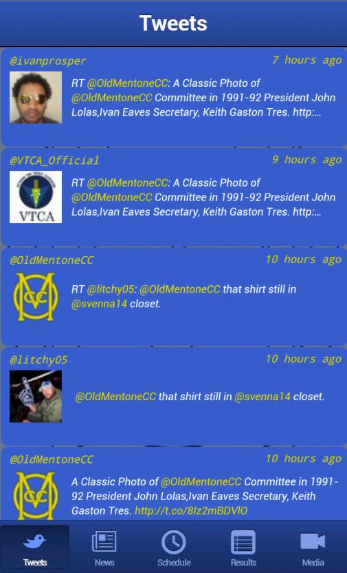 OMCC Live - screenshot